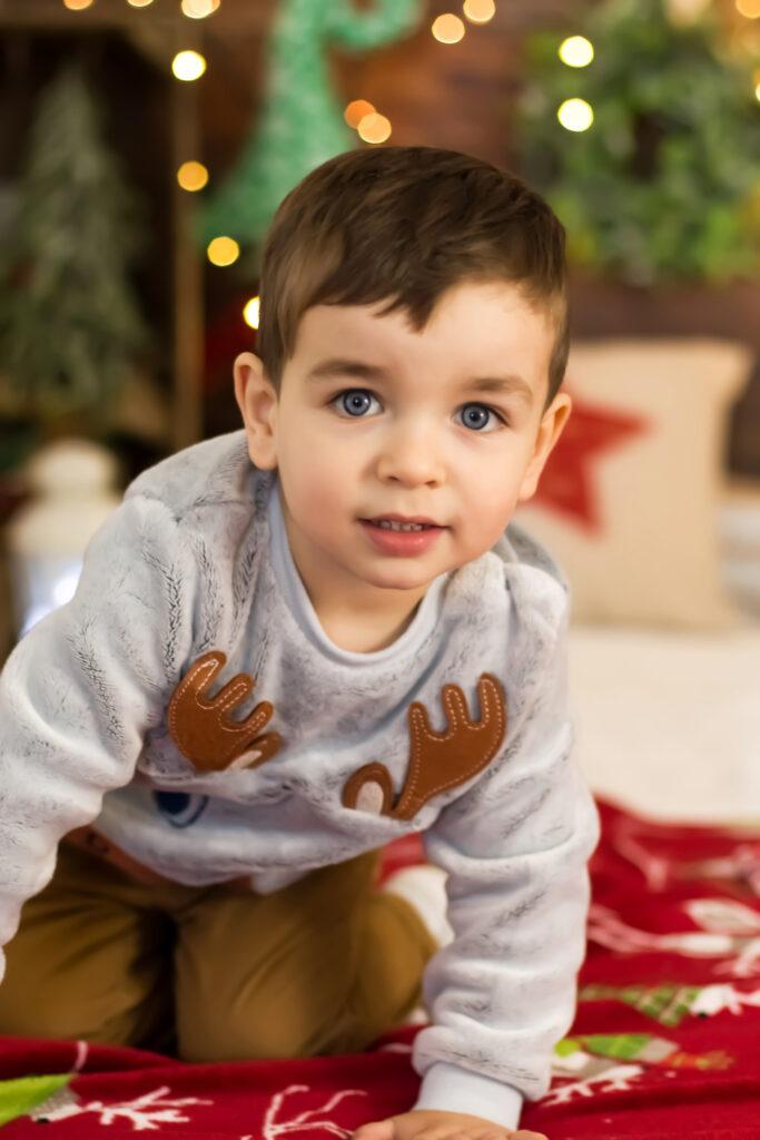 świąteczne sesje dziecięce