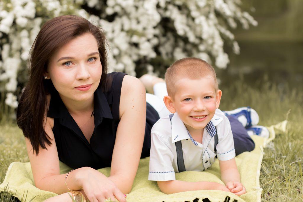 zdjęcia w plenerze, sesja rodzinna