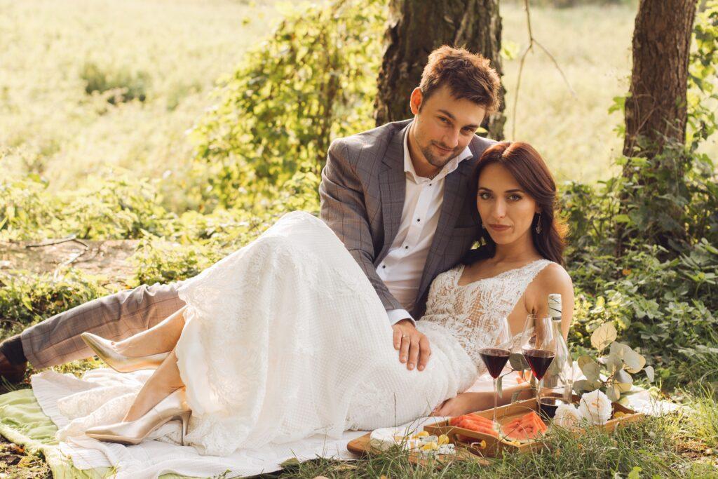 ślubny plener fotograficzny