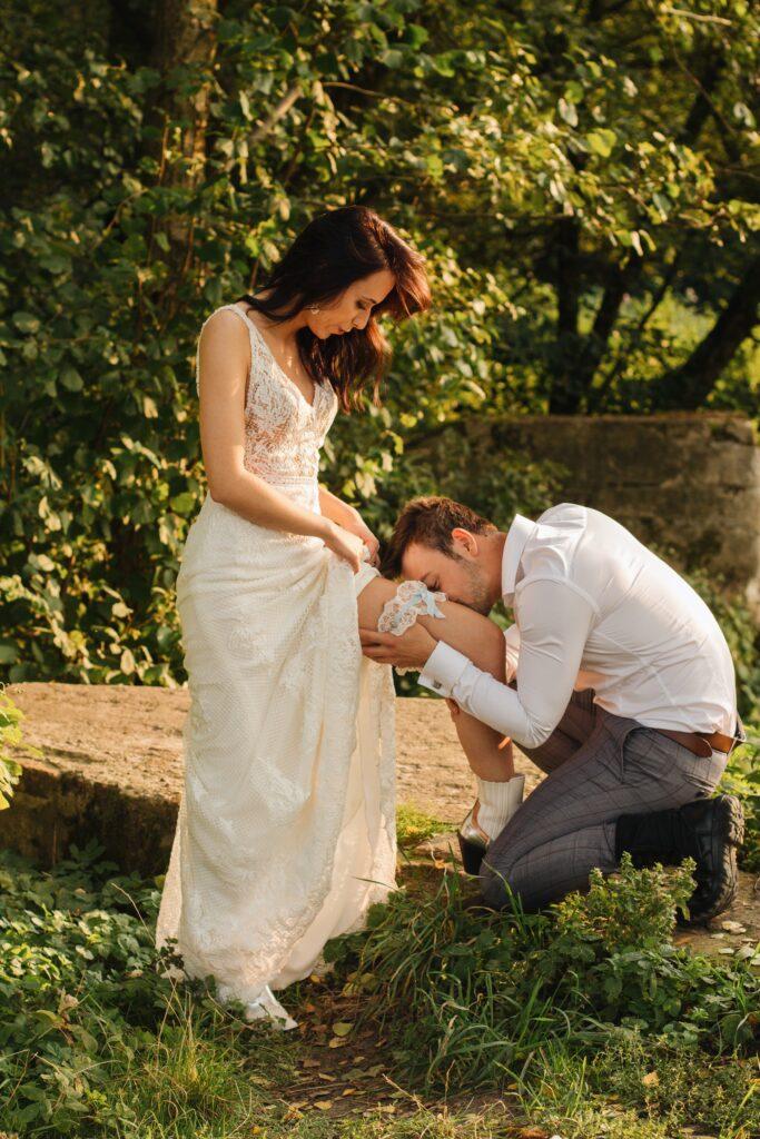 ślubna sesja fotograficzna